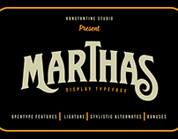 Marthas Typeface (20% OFF)