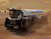 Behemoth Mars Transport Vehicle