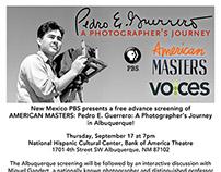 Pedro E. Guerrero Print Flyer