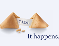 AXA Life events advertising campaign