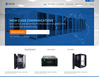 HighClass Communications - hompage redesign proposal