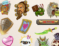 Hearthstone Mobile Emojis