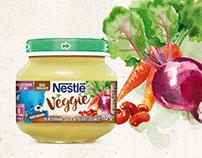 Nestlé  Papinhas Veggie