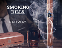 Smoking kills. Slowly.