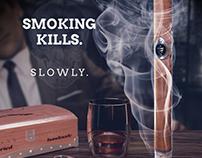 Smoking kills. Slowly.