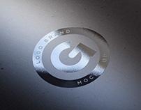 Free Silver Foil Logo Mock-Up