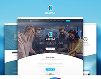 Website Interface of Software Company.