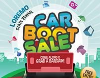 Car Boot Sale Flyer Template