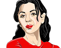 Slef Portrait in Adobe Illustrator