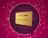 Damat Tween - Vip Card Design