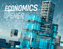 Economics Opener (after effects template)