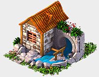 3D ASSETS FOR ISOMETRIC GAME