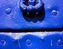 Door Blue