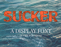 Sucker - An Octopus Display Font