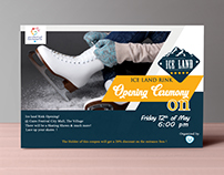 Ice Land Invitation Card