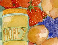 Farmers' Market Fruit Basket