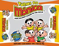 Embalagens Turma da Mônica