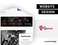 UI/UX Design for OGaraz by BrandzGarage