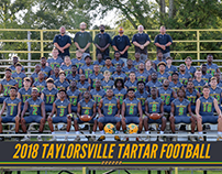 2018 Taylorsville Tartar Football Graphics