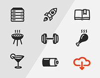 Smart & Modern Outline Icons for FREE