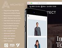 Architect WordPress Theme - Responsive Site Builder