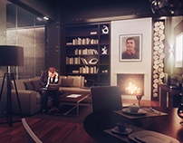 Underground VIP safe house concept
