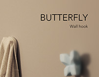 Butterfly-Wall hook