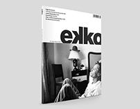 Ekko magazine redesign