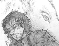 Jon Snow: The White Wolf