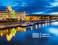 Prague Riverwalks Identity and Web