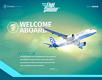 Microsoft Flight Simulator 2020 | UI/UX Design