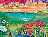 Coconut Coast Studios 2017 art calendar