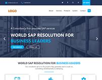 Website Design of IT company