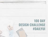 100 Day Design Challenge #DailyUI #100DayChallenge
