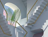 Tropical Escher