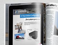 Magazine Print Advertisement