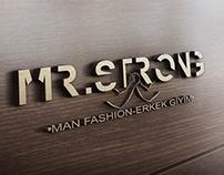 """""""MR.STRONG(Erkek Giyim)"""" Logo ve Kurumsal Kimlik Mockup"""