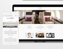 VistaJet Corporate Site