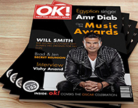 Magazine Cover for OK Magazine.