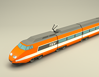 TGV Sud-Est, Mobile Game Asset