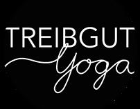 """Treibgut Yoga"" logo"