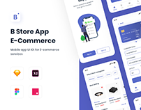 B-Store | E-commerce UI Kit