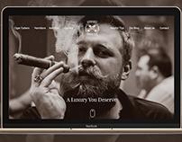Cigar Blog & E-Commerce Webpage
