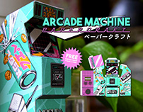 Arcade Machine Papercraft