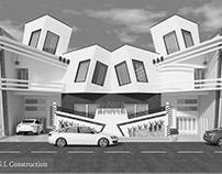 Modern Mirror House