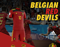 Belgium soccer uniform design