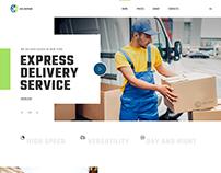 Delivery Company. WordPress