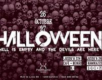 Flyer Halloween
