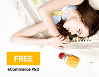 Cosmetico - Free eCommerce PSD [DOWNLOAD]