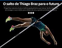 O salto de Thiago Braz